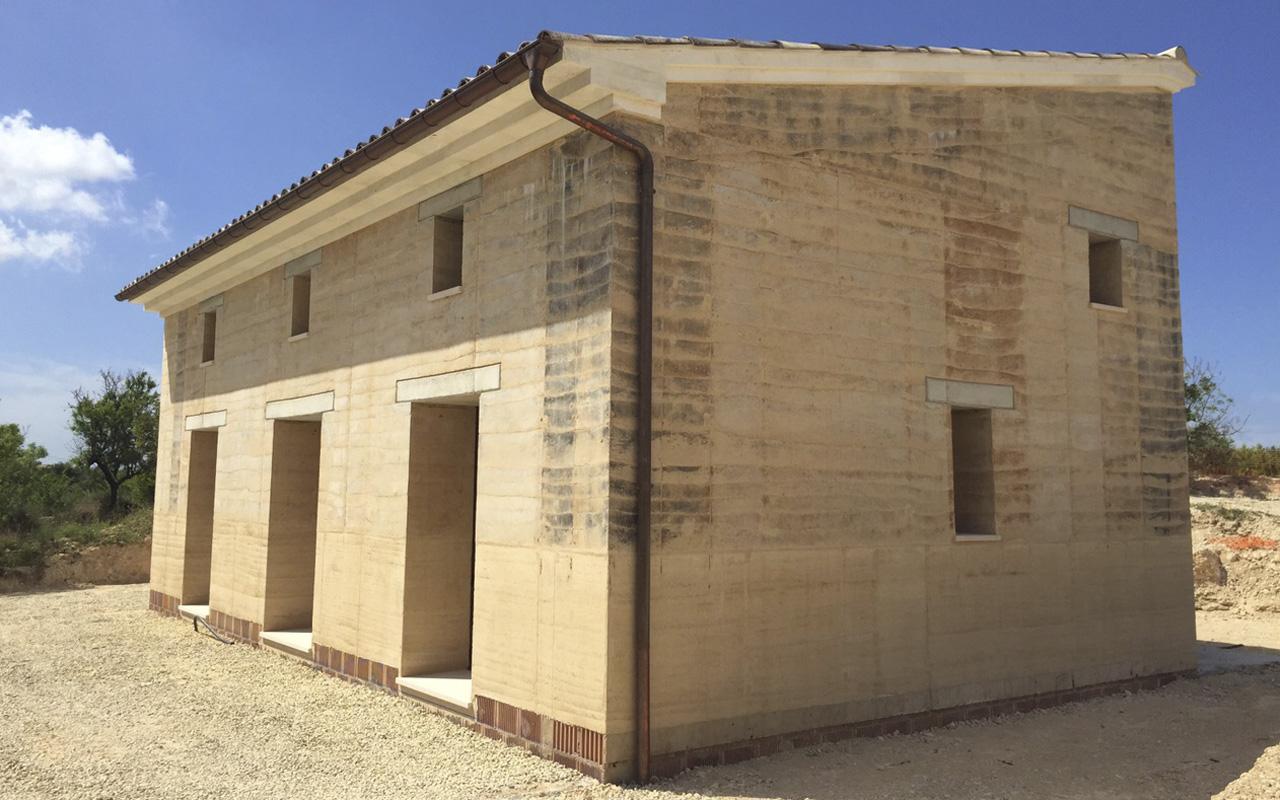 Casa realitzada amb Tapial a Santa Maria